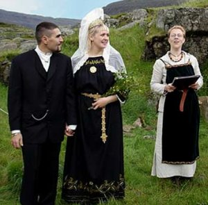 Asatru wedding
