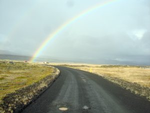 Iceland road map