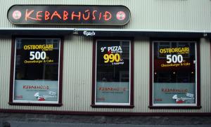 The Kebab house in Reykjavik