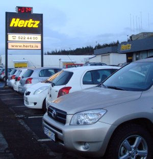 Budget car rental Iceland