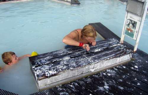 Health benefits Blue lagoon