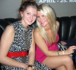 Hot Icelandic girls in a bar