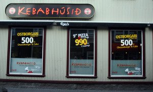 The Kebab house in Reykjavik