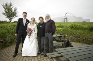 Two couples at Perlan