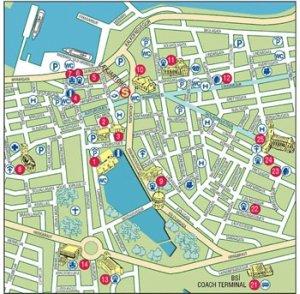 Reykjavik city map